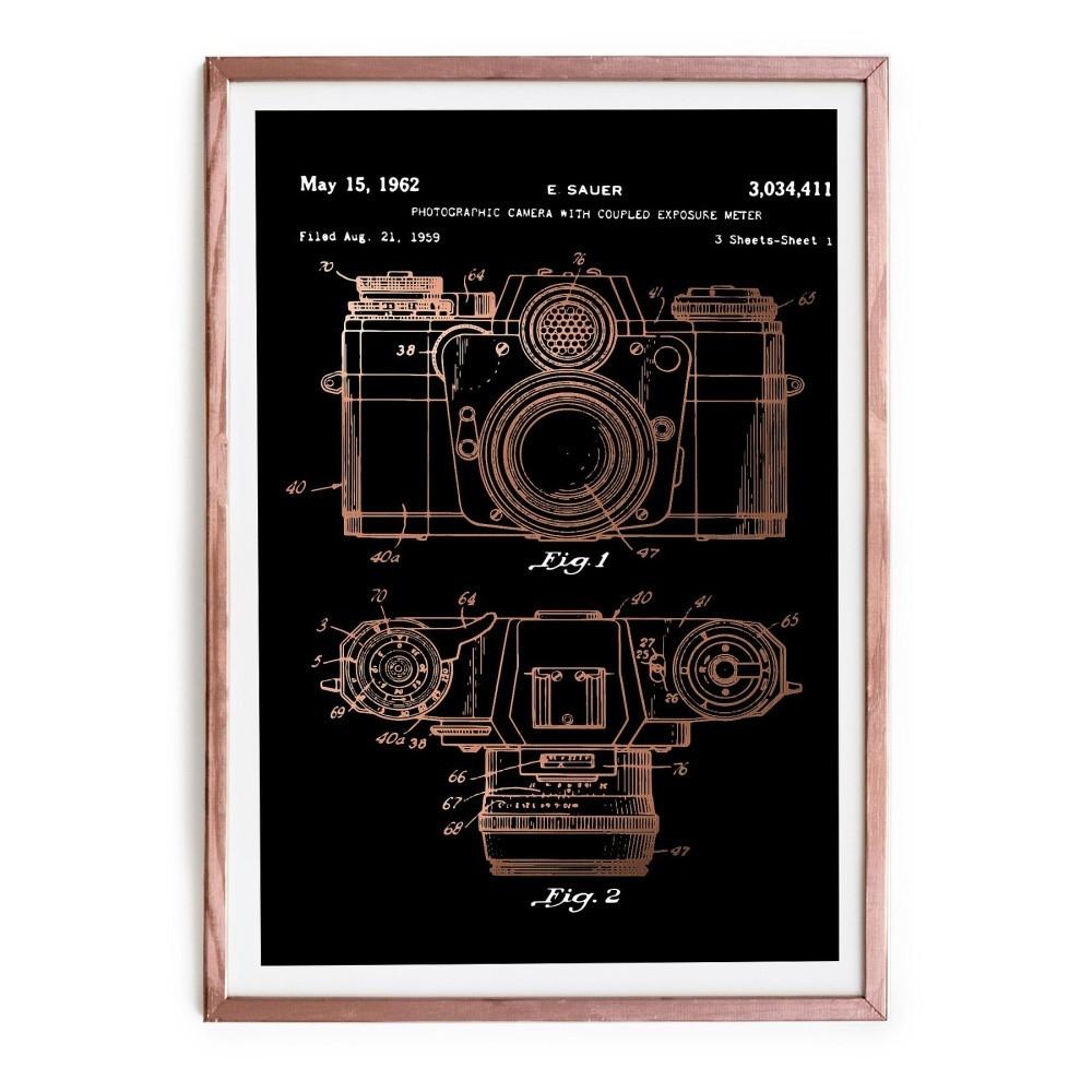 Obraz Really Nice Things Camera, 40x60cm