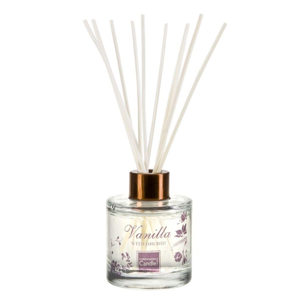 Aromatický difuzér Copenhagen Candles Vanilla & Orchid Reed, 100 ml