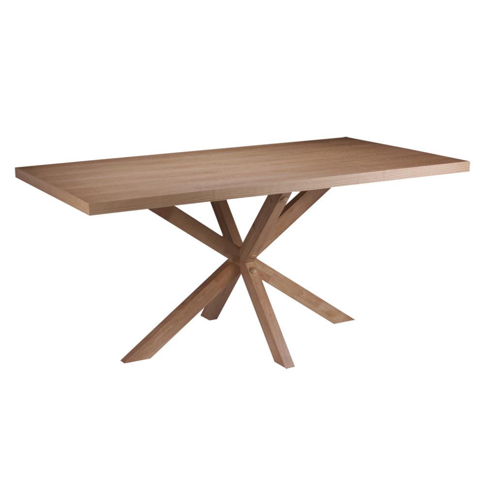 Jedálenský stôl vdekore dubového dreva sømcasa Dina, 160x90cm