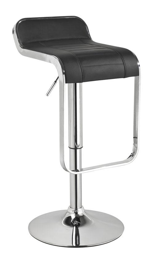Barová stolička CB-621 čierna