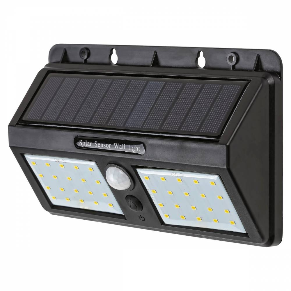 Rabalux 7881 Ostrava vonkajšie solárne LED svietidlo s pohybovým senzorom, 19 cm