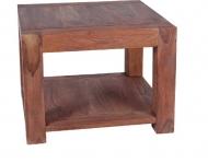 Furniture nábytok  Masívny konferenčný stolík z Palisanderu  Chorram  60x60x45 cm