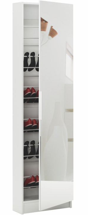 Botník (skrinka na topánky) Kapater biela