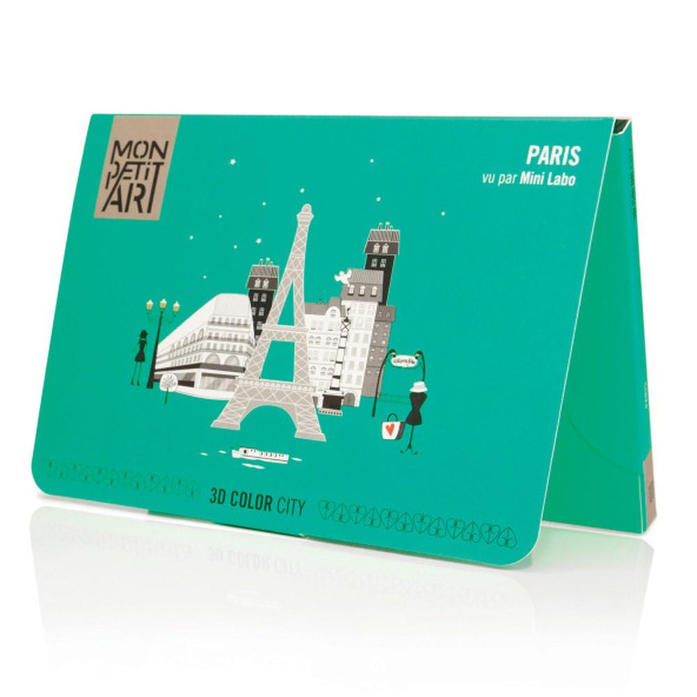 Panoramatická skladačka Mon Petit Art Paris City