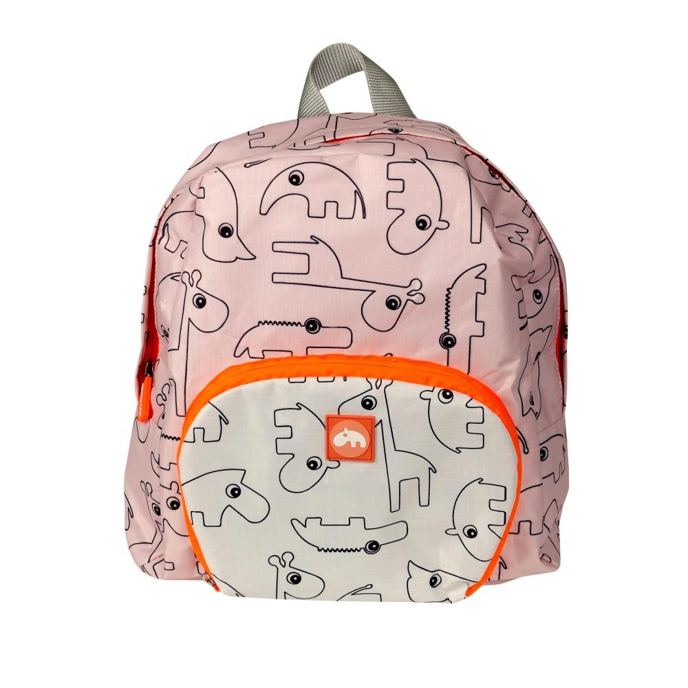 Ružový detský batoh Done by Der