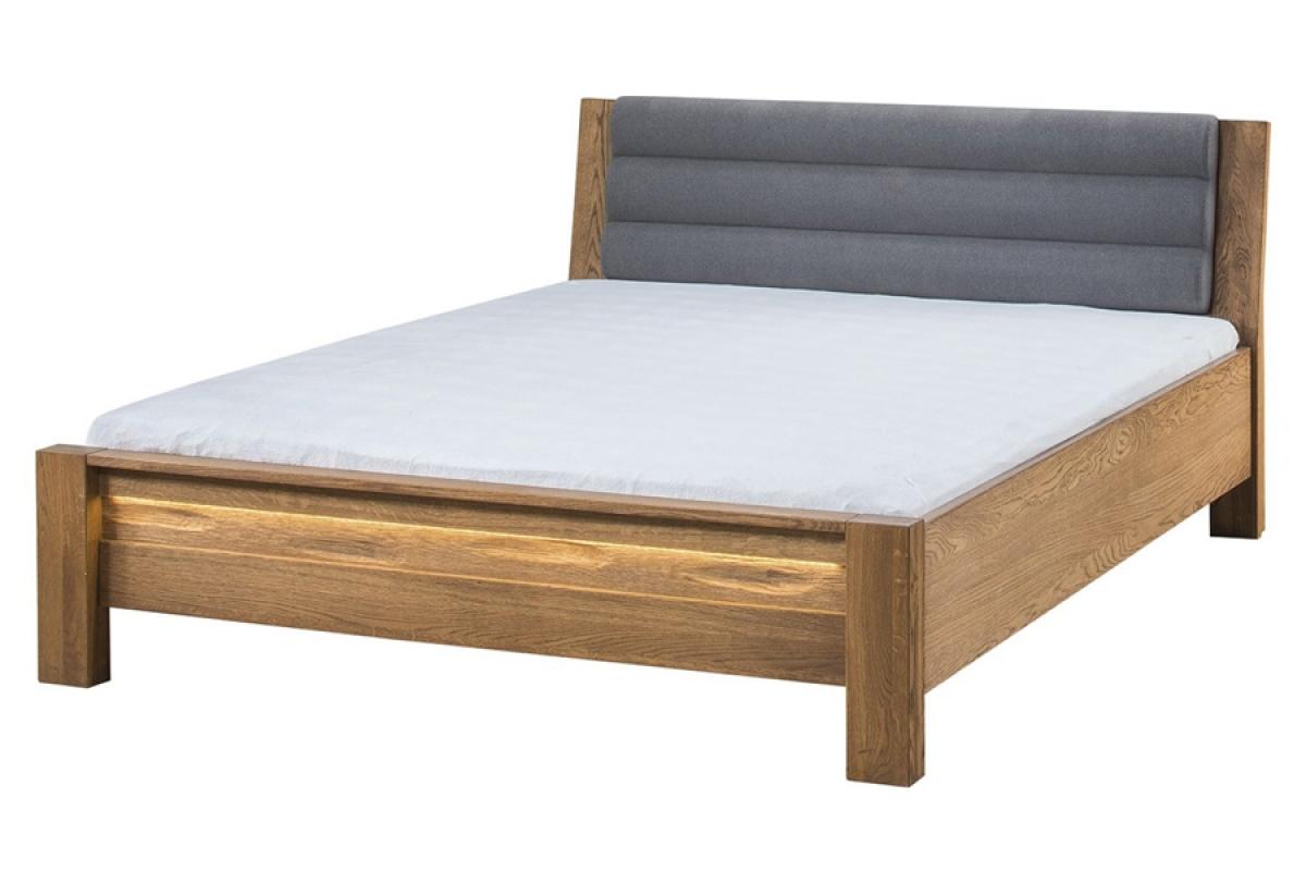 Nabytok-Bogart Velvet 76 - posteľ do spálne šedý