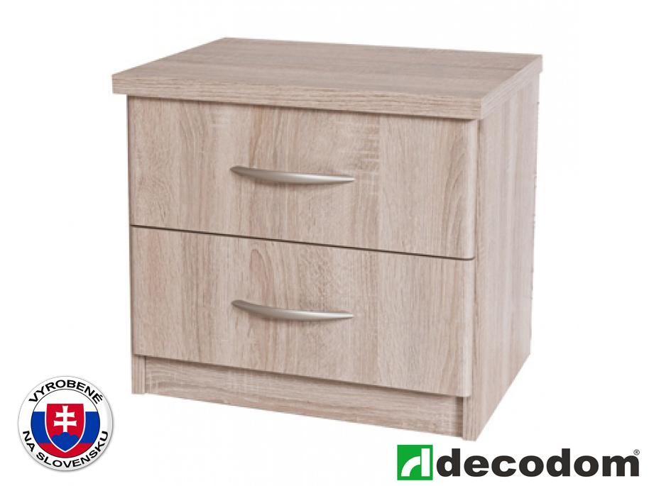 Nočný stolík Decodom Casandra Typ 01 (dub pílený bardolino)