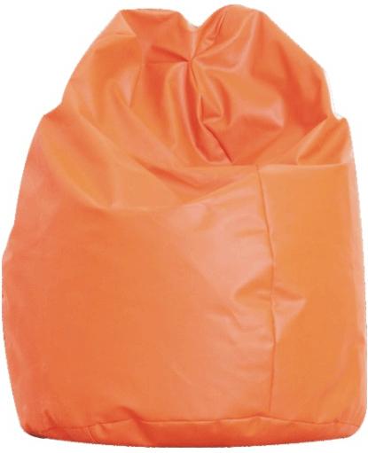 TEMPO KONDELA BAG VAK sedací vak - oranžová ekokoža
