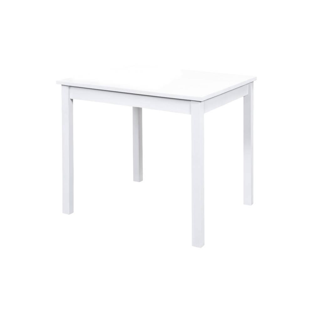 Jedálenský stôl 8842B biely lak