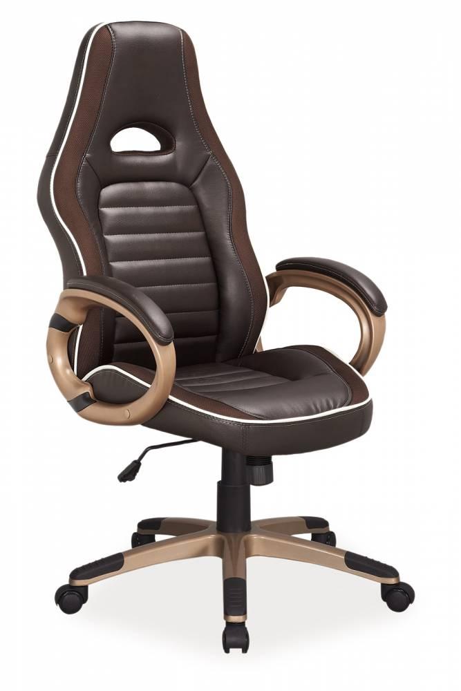 Kancelárske kreslo Q-150 (ekokoža hnedá)