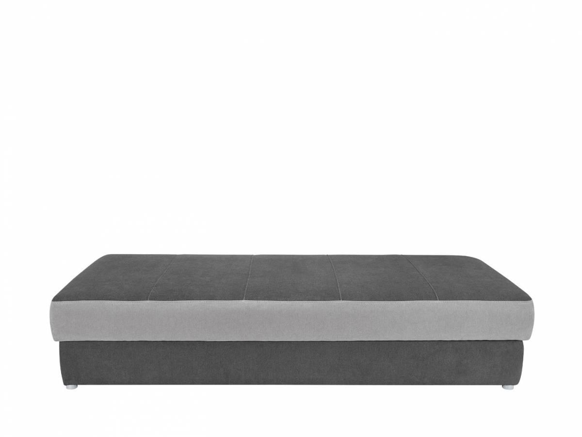 Jednolôžková posteľ (váľanda) Pepe LBK (tmavosivá)