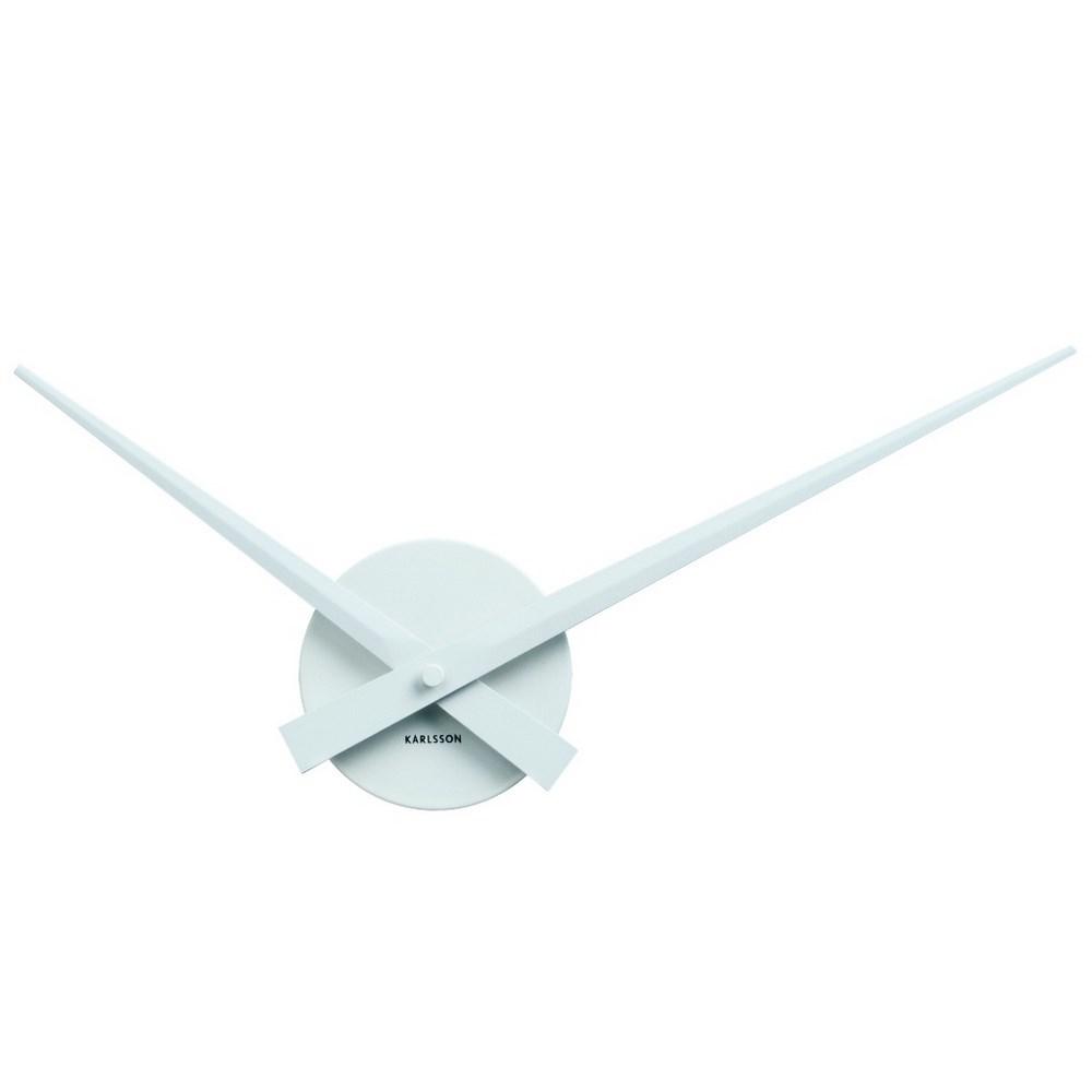 Karlsson 4348WH Designové nástenné hodiny, 44 cm