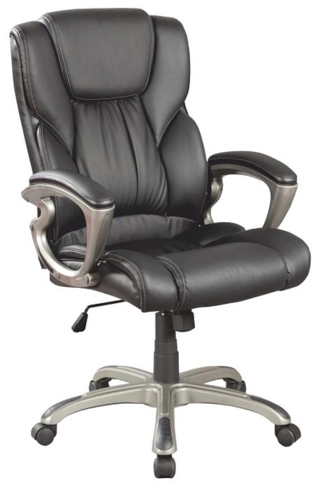 Kancelárske kreslo Siemo 6121 ekokoža čierna *výpredaj