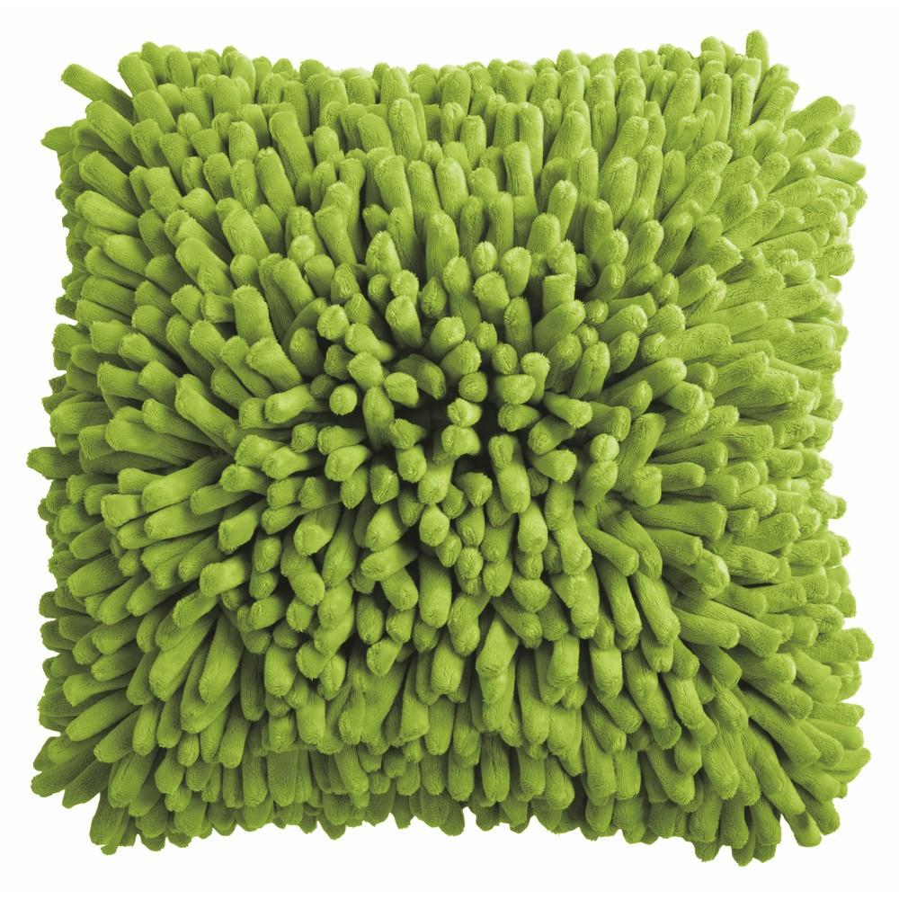 Zelený vankúš ZicZac Spiky, 45x45cm