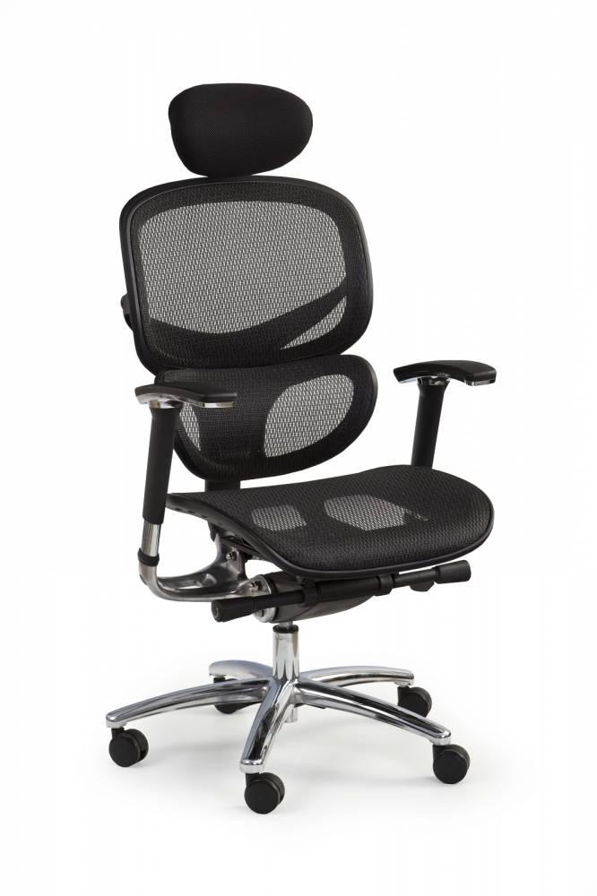 Kancelárska stolička President čierna