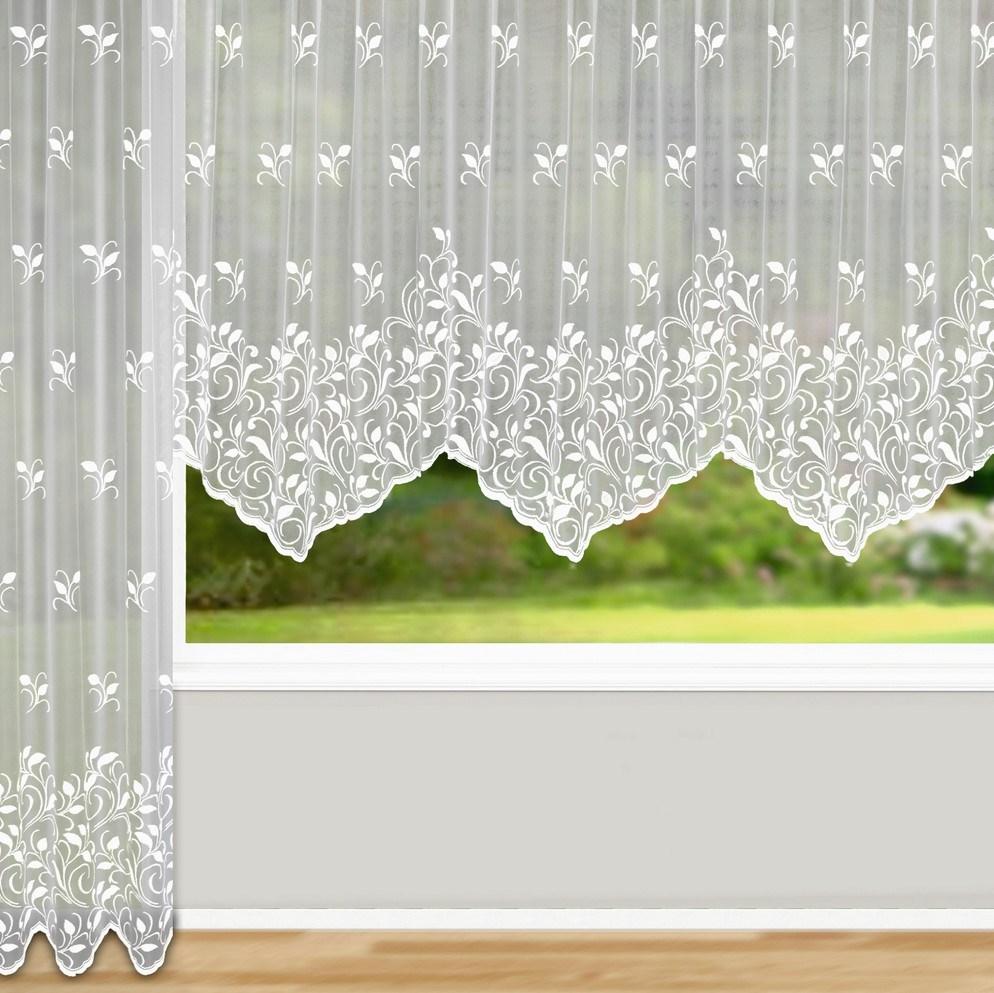 Albani Záclona Bologna oblúk, 450 x 125 cm