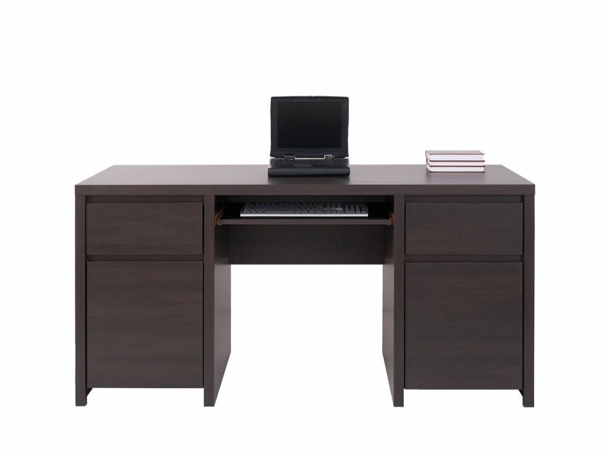 PC stolík Kaspian BIU2D2S/160 (Wenge)