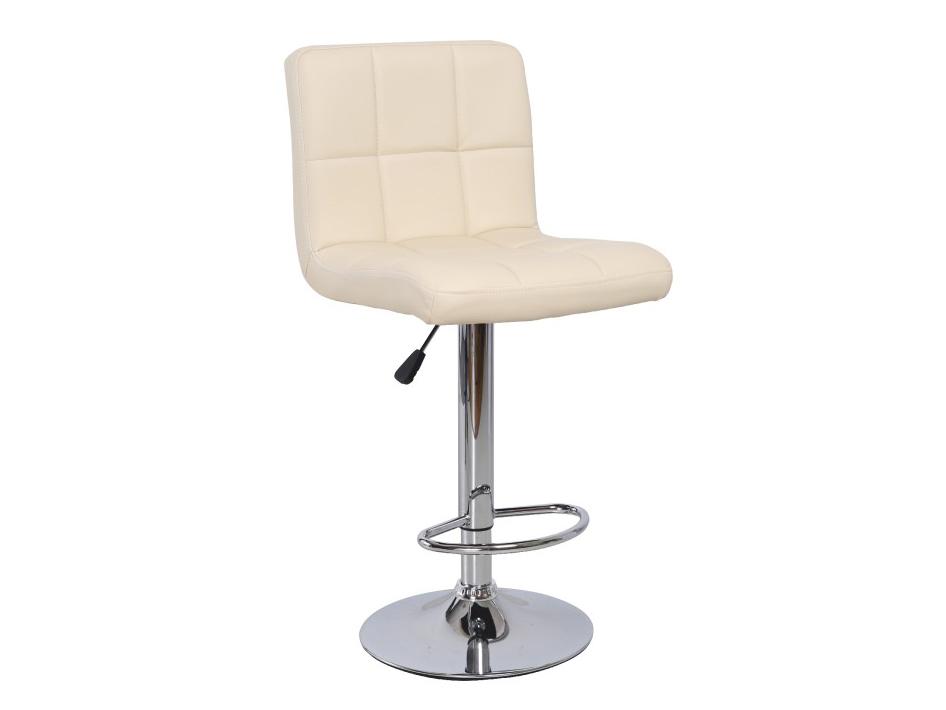 Barová stolička Kandy (béžová + chróm)
