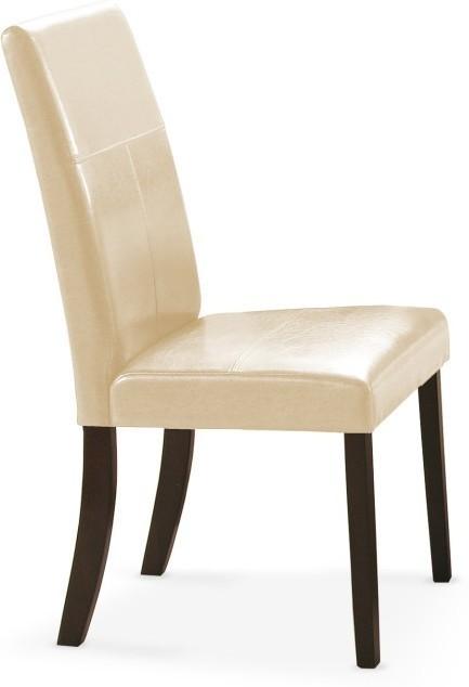 Jedálenská stolička KAMRANESA - wenge/béžová