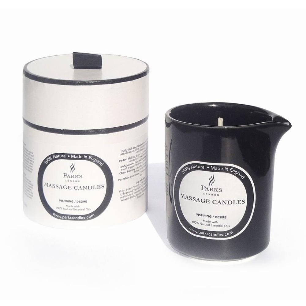 Masážna sviečka s vôňou jazmínu, dreva a rozmarínu Parks Candles London Inspiring, 50 hodín horenia