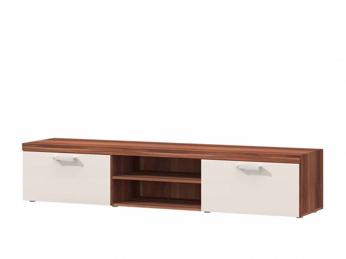 TV stolík/skrinka S8 (slivka + krémová)