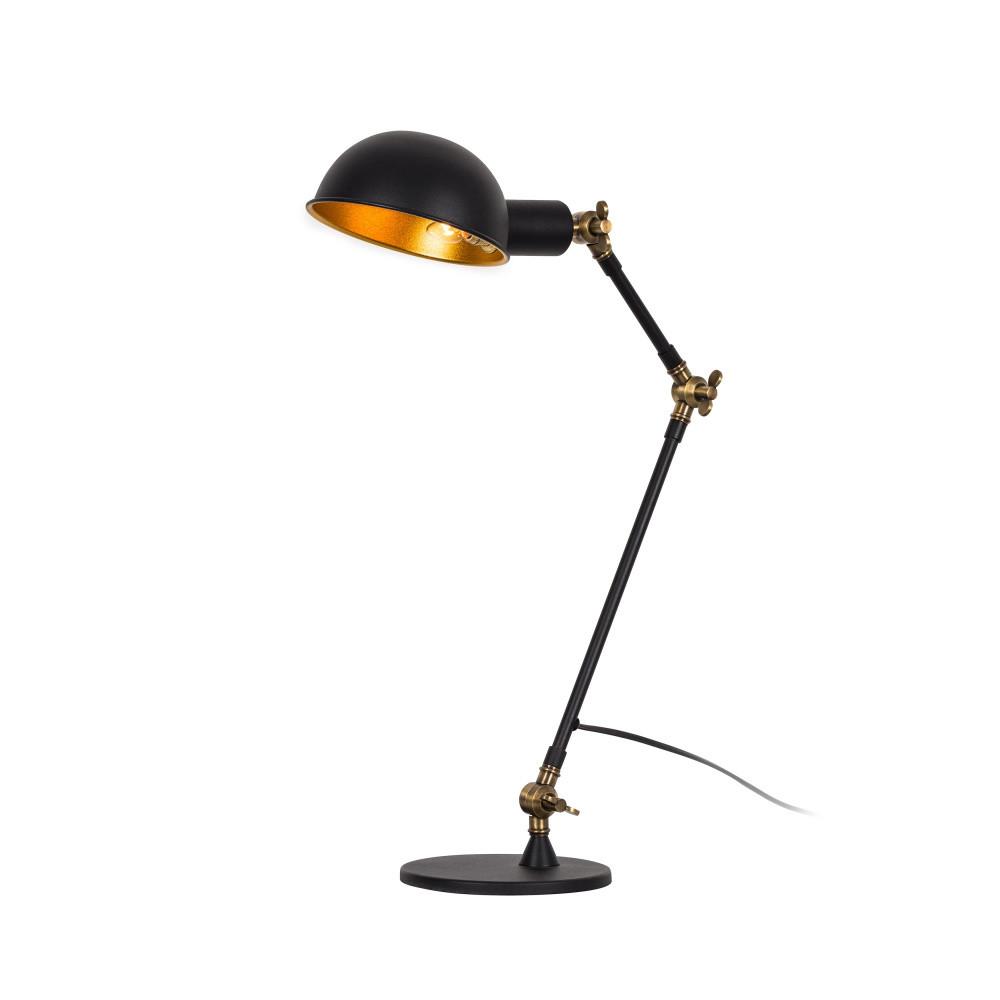 Čierna stolová lampa Clyde