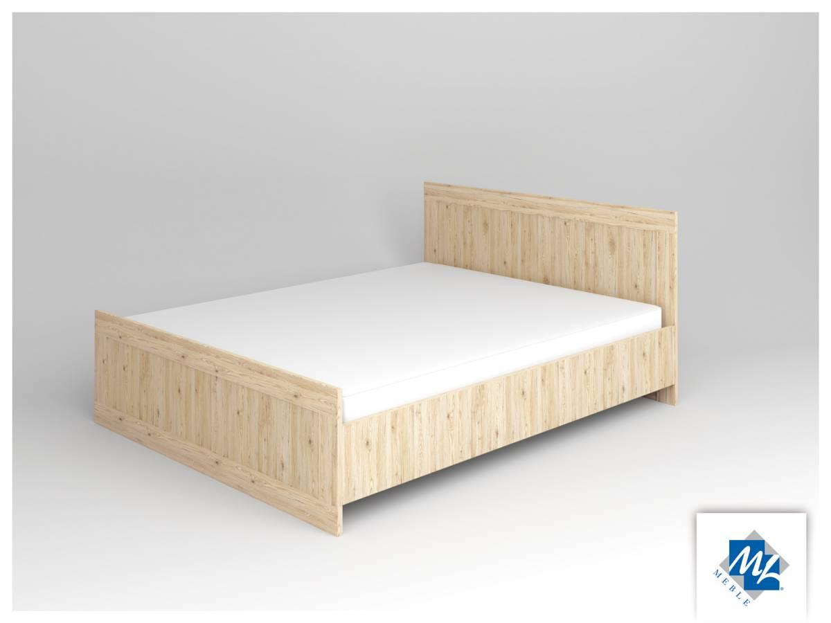 Manželská posteľ 160 cm Modern 16 dub San Remo