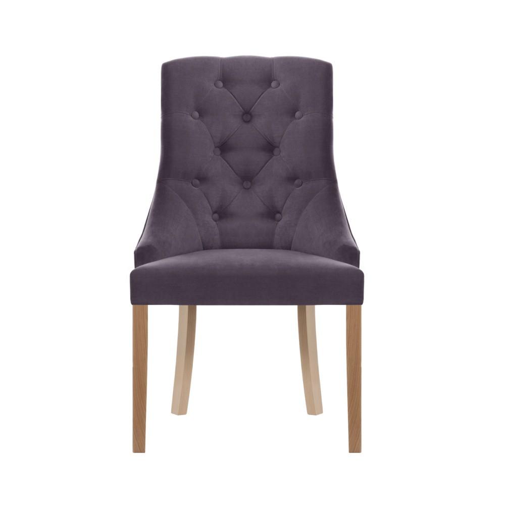 Fialová stolička Jalouse Maison Chiara