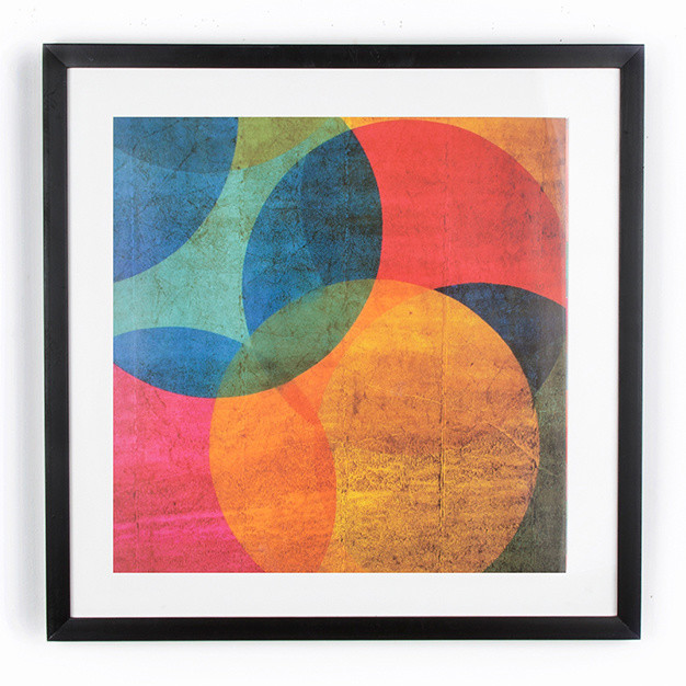 Obraz Graham&Brown Neon Circle, 50x50cm