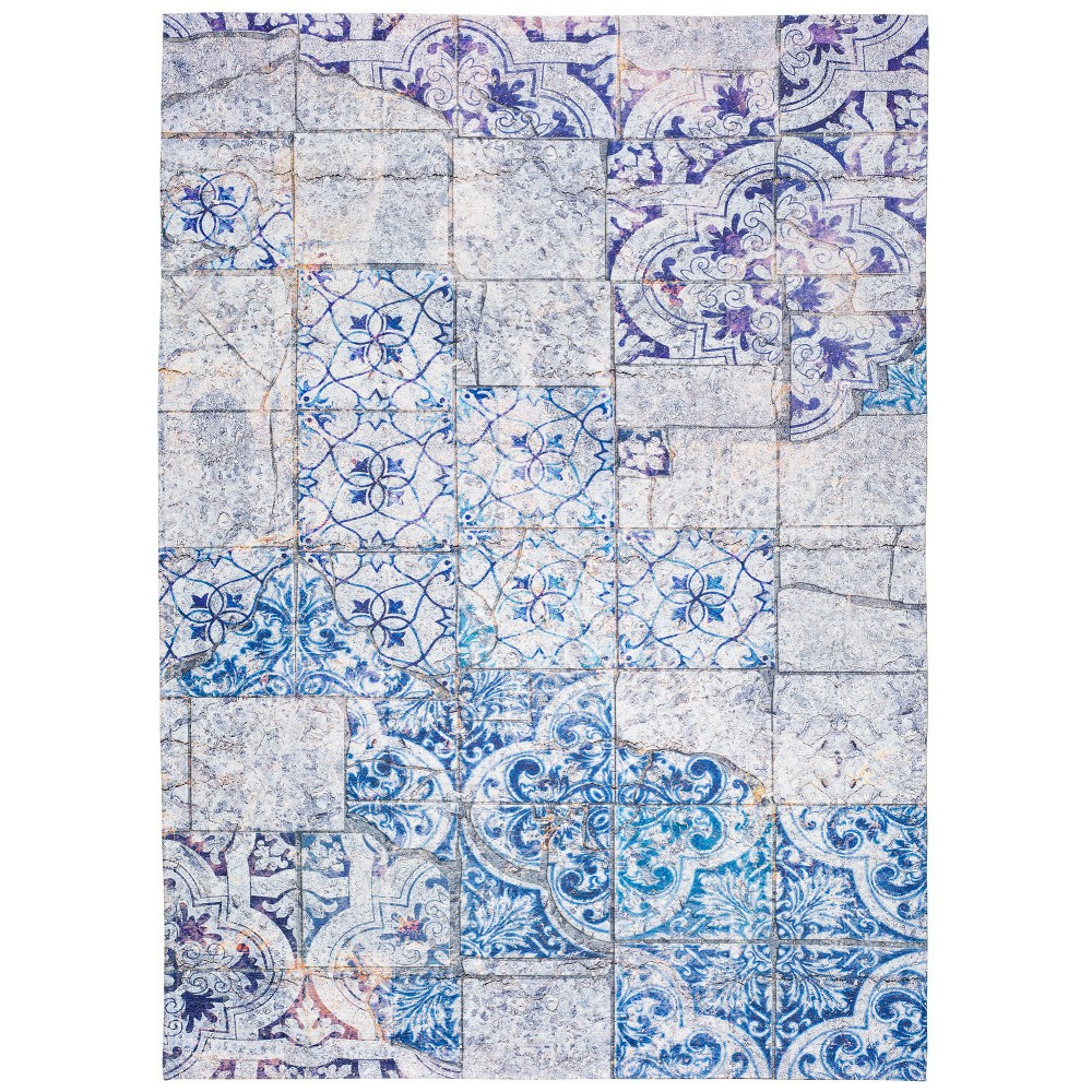 Sivo-modrý koberec Universal Alice, 80 x 150 cm