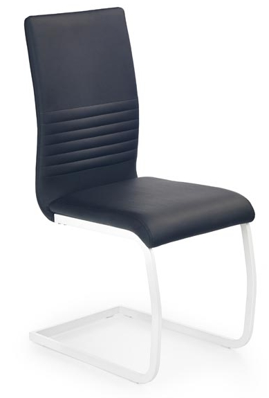 Jedálenská stolička K185 čierna