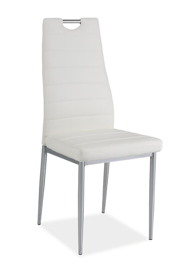 HK-260 jedálenská stolička, biela
