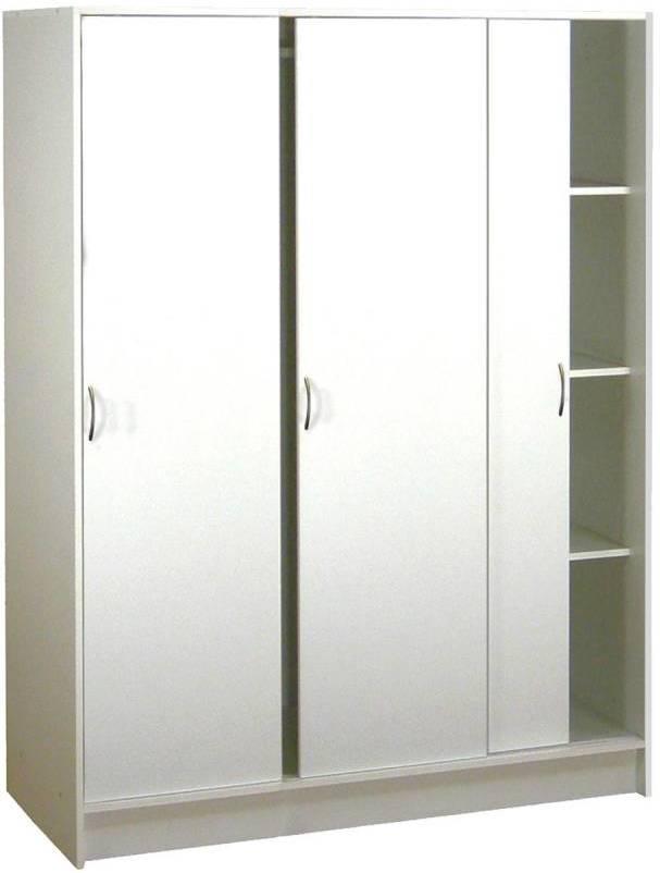 Skriňa s posuvnými dverami 3323 biela