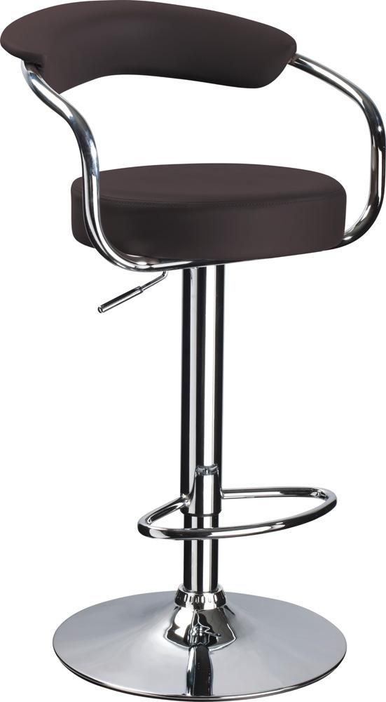 Barová stolička C-231 Krokus tmavohnedá
