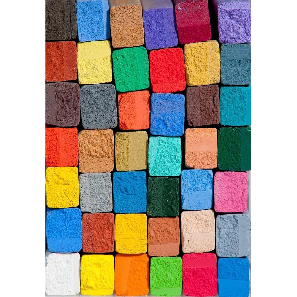 Vinylový koberec Colorful, 52x75 cm