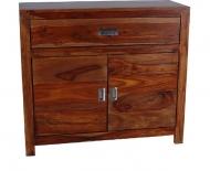 Furniture nábytok  Masívna Komoda z Palisanderu  Sáber  90x35x80 cm
