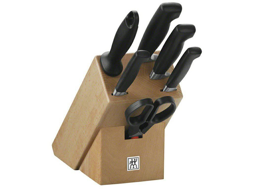Zwilling Four Star blok s nožmi - 7 ks