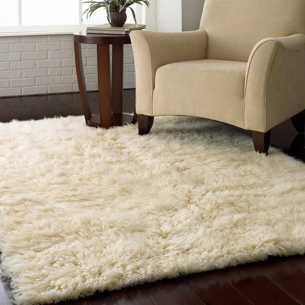 Vlnený koberec Royal Dream Pure Light, 90x170cm
