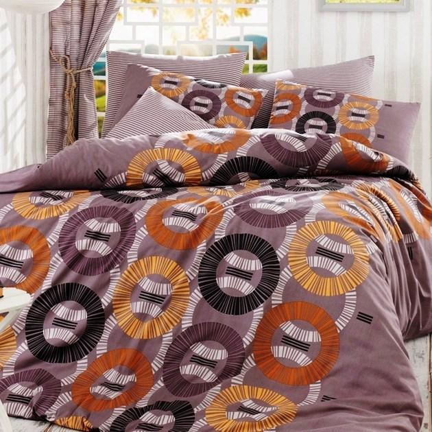 BedTex Bavlnené obliečky Luiz šedá, 220 x 200 cm, 2 ks 70 x 90 cm, 220 x 200 cm, 2 ks 70 x 90 cm