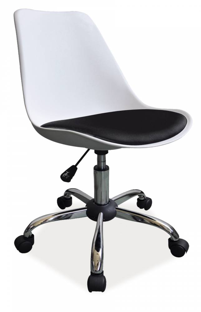 Kancelárske kreslo Q-777 (biela + čierna)