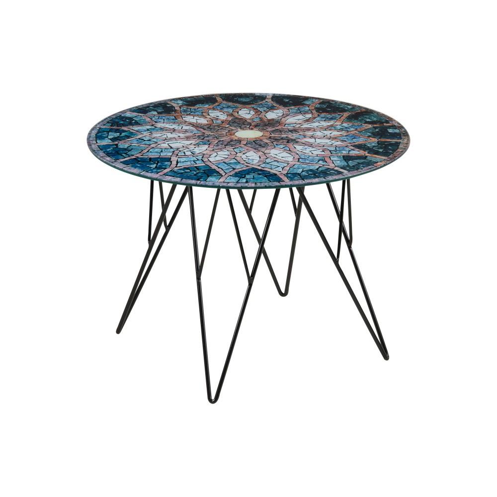 Odkladací stolík s mozaikou Actona Sun