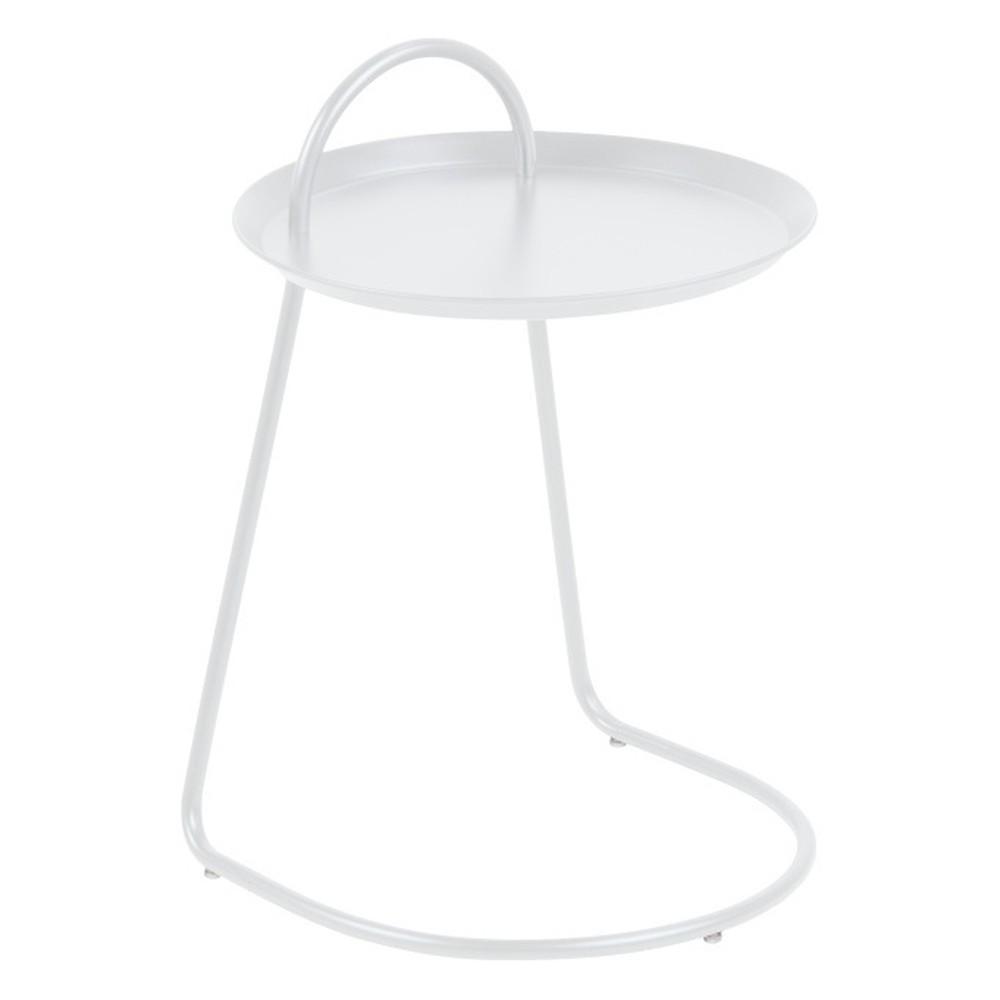 Biely príručný stolík Actona Matlock