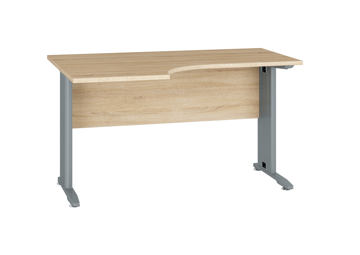 Kancelársky stôl OPTIMAL 14 / sonoma svetlá