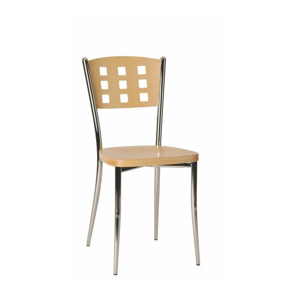 Kovová jedálenská stolička AGAVE