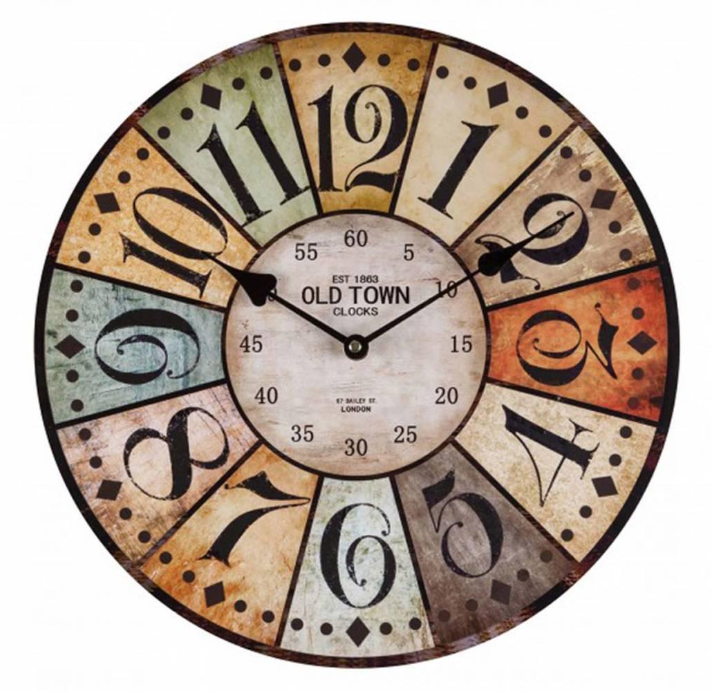 Nástenné hodiny Antique HOME 7308, 34cm