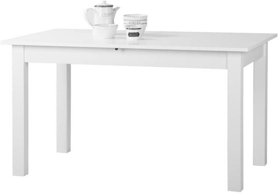 Jedálenský stôl COBURG 160 biely
