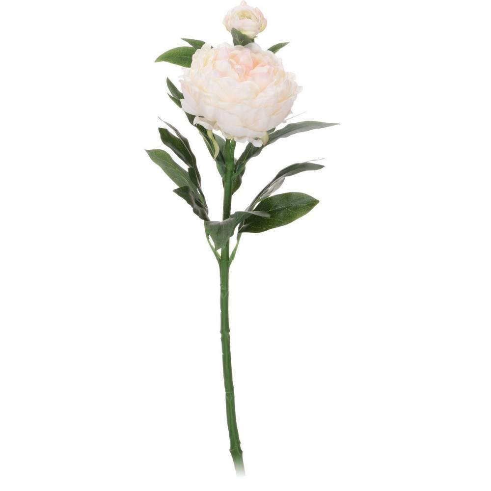 Koopamn Umelá kvetina Pivonka biela, 61 cm