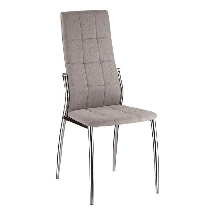 Jedálenská stolička Adora (sivá)
