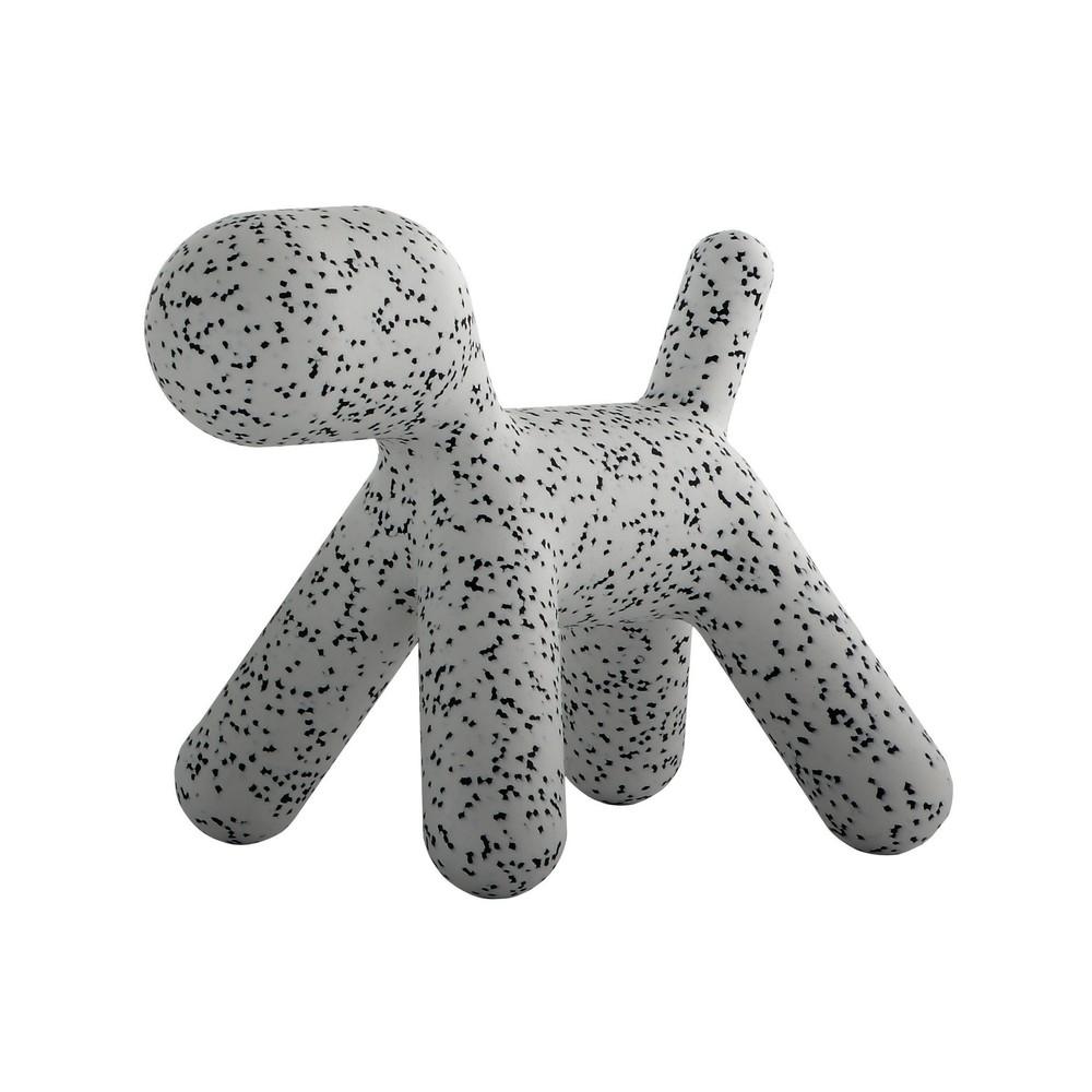 Sivá stolička Magis Puppy Dalmatin, dĺžka 56 cm