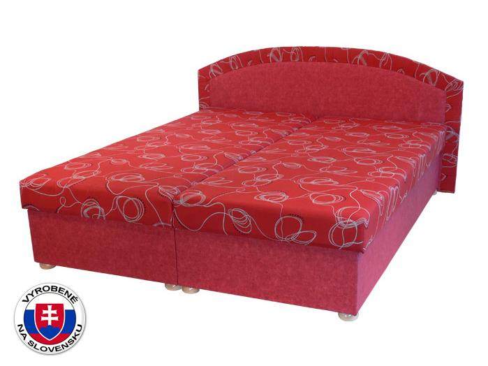 Manželská posteľ 160 cm Soňa (so sendvičovým matracom)